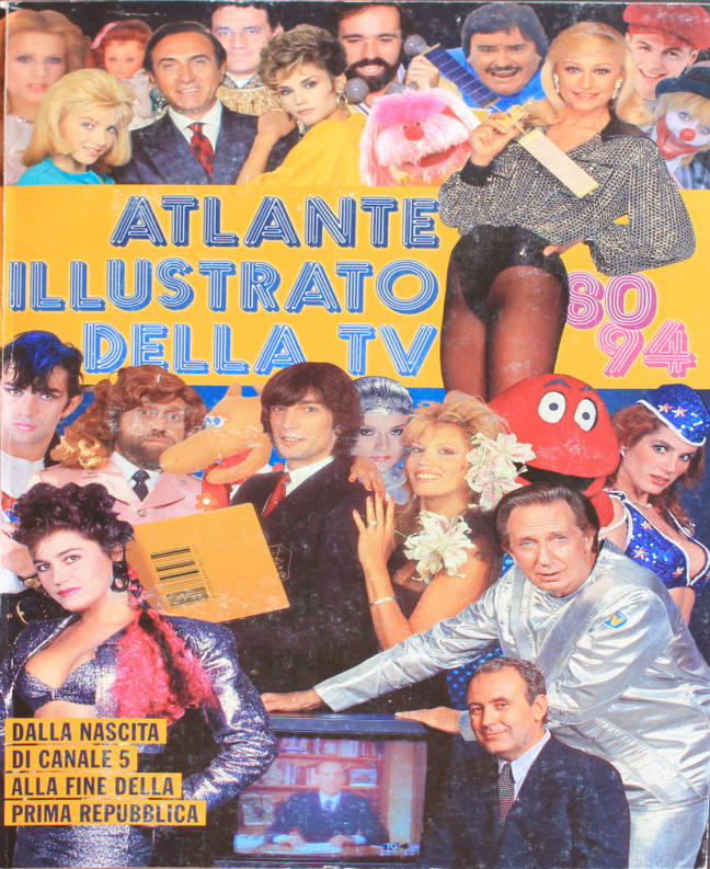 ATLANTE illustrato della tv