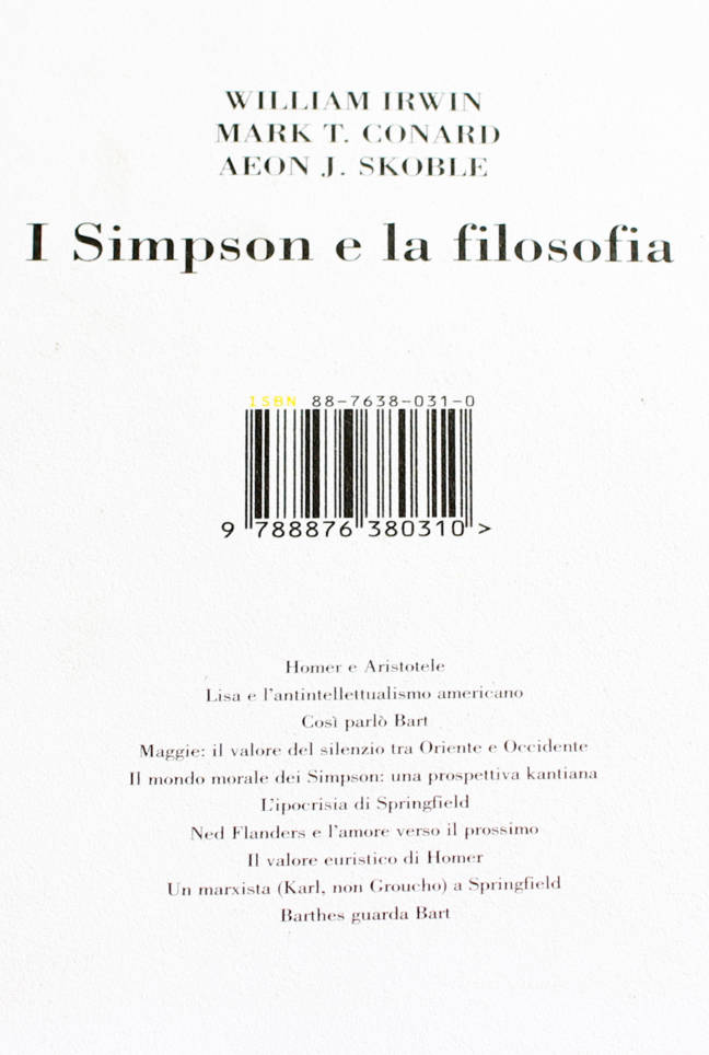 I-simpson-e-la-filosofia