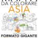 Mappa da colorare Asia gigante