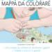 Mappa da colorare Italia gigante