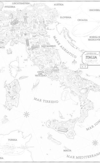 Coloring Maps – Italia