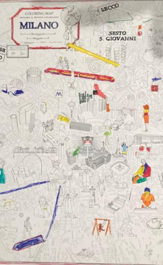 Coloring Maps – Milano